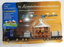 GRELL HO 1/87 CAMION SEMI TRUCK TRAILER SCANIA 420 KULMBACHER BEER PORTE ENGIN