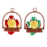 Electronic Talking Parrot Toy Recording Repeats Kids Toys Education Gift