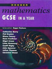 Hodder Mathematics: GCSE in a Year by Roger Porkess, etc. (Paperback, 1999)