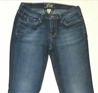 Womens Lucky Brand Jeans Size 6/28 Boot Cut Medium Wash Distressed Sweet N Low