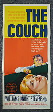 THE COUCH Rare Original 1960s Horror Thriller Daybill Movie Poster