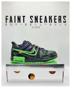 Nike Rubber Dunk 'OFF-WHITE GREEN' (BRAND NEW UK 9)