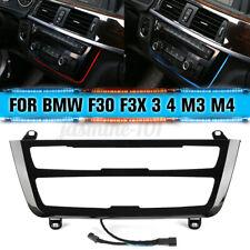 Umschaltbar Blende Klimabedieneinheit Beleuchtete LED Für BMW F30 F31 F34 F80 M3