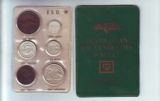 1942 Pre Decimal Coin Year Set in BP Oil Wallet Birthday Baby Birth Year  Q-118