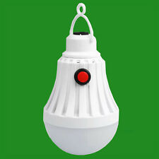 9W LED 5V Rechargeable 60cm Cable USB Switch Light Bulb Emergency Lamp Hanger