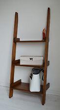 Unit Storage Display, Hand Made Wooden Ladder, Shelving, Storage Retro Vintage