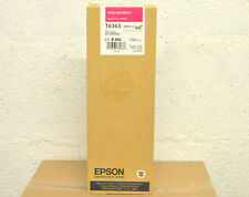 Cartouche Original EPSON T6363 700ml 12/2010 Magenta 7890 7900 9890 9900 Genuine