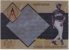 1997 UPPER DECK UD3 MARQUEE ATTRACTION: BARRY BONDS #MA4 GIANTS HOME RUN KING