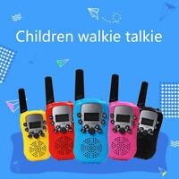 Handheld Walkie Talkie Kids Green 22 Channel 2 Way Radio Children'sOutdoorToBDA