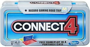 Connect 4 - Road Trip Edition & Travel Case Genuine Hasbro Gaming Connect Four