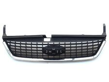 FORD MONDEO MK IV 4 2007-2010 FRONT MAIN CENTRE GRILLE BLACK CHROME NEW