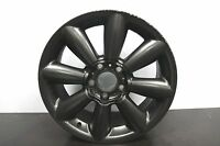 "1 x Genuine Original Mini Countryman 18"" Matt Black alloy wheel R60 R61 9804374"