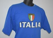 "ITALIA T-SHIRT ITALY FLAG SOCCER FUTBOL ITALIAN STALLION BIG XXL 48"" CHEST"