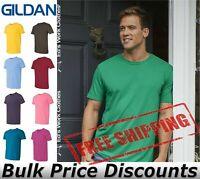 Gildan Mens Blank Short Sleeve Cotton Softstyle T Shirt 64000 up to 4XL