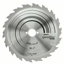 Bosch Circular saw blade Speedline Wood 160 x 20 x 2.4 mm. 18 2608640787