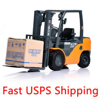 1:20 Scale Diecast Forklift Engineering Truck Construction Vehicle Car Model Toy