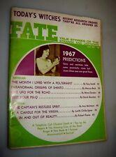 FATE MAGAZINE JUNE 1967: PREDICTIONS, SECRET SHINTO ORIGINS - UFO's paranormal