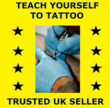 (D105) TEACH YOURSELF TO TATTOO, INSTRUCTIONAL TRAINING DVD
