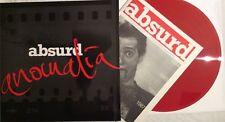 ABSURD Anomalia red Vinyl LP polish legend  punk  deadlock smierc kliniczna