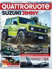 QuattroRuote 2018 758 ottobre.Suzuki Jimny