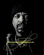 Ice T NYPD Detective Odafin Tutuola Law & Order Autograph UACC RD 96