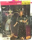 Halloween Practical Magic Witch Costume Size Girl L(10-12) Cosplay Dress-Up Play