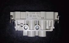 ILME CXM 4/0 600V MALE INSERT 4 POLE CONNECTOR NEW OTHER
