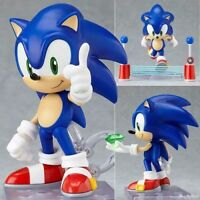 """The HEDGEHOG Super Sonic PVC Action Figure Toy 9cm  / 3.5"""" Great Gift"""