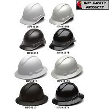 Pyramex Ridgeline Hard Hat Graphite Pattern Full Brimcap Style 4 Point Ratchet