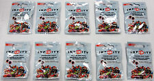 Lot of 10 Disney Infinity Series 2 Power Disc Packs * SEALED BRAND NEW *