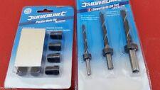 Legno Tasca Foro Jig 6 8 10mm con spina di centratura Trapani Trapano Legno Set (Carpenter Strumenti