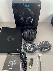 Logitech G PRO X Wireless Black Over-Ear Headset