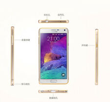 Slim Aluminium Metal Bumper Frame Cover 4 Samsung Galaxy NOTE 4 N910 gold edge G