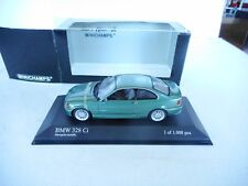 1:43 MINICHAMPS BMW 328 CI  COUPE 1999 GREEN MINT BOXED