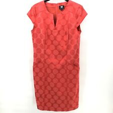 W By Worth Dress Red Polka Dots Size 6 with Pockets