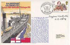 Handstamped Historical Events British Stamps