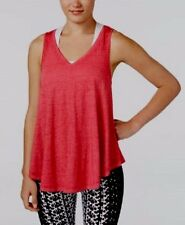 Calvin Klein Performance Icy Wash Tank Top Color Carmine Size X-Large