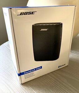 Bose SoundLink Color Bluetooth Speaker Black 781273-0010 NEW SEALED Portable