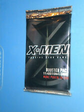 x-men trading card game booster pack from 2000 new