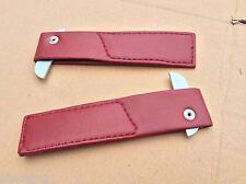 AUSTIN HEALEY SPRITE, MG MIDGET '62-'79  DOOR RED CHECK STRAPS X3R3220 BD8-D4-F
