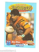 1994 FIELDERS RUGBY LEAGUE CARD - #5. BEN ELIAS, BALMAIN TIGERS