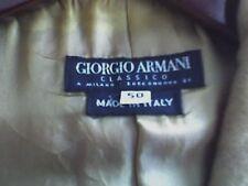 Giorgio Armani Classico 100% Camel Hair, Single-Breasted Woman's Blazer Jacket