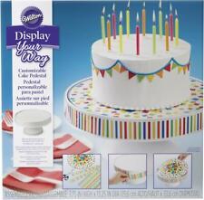 Wilton 307-2503 Display Your Way Customizable Cake Pedestal White