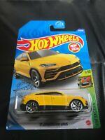 Hot Wheels 2020 HW Exotics Yellow '17 Lamborghini Urus BOX SHIPPING New For 2020