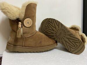 ugg australia bailey charms womens S/N 1002153 chestnut boots size uk 5.5 eu 38