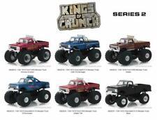 Greenlight 49020 Kings Of Crunch Series 2 Set Of 6 Monster Trucks Diecast 1:64