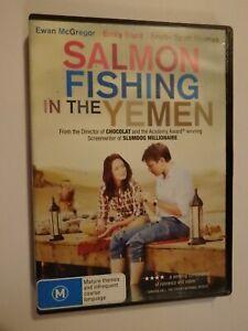 Salmon Fishing In The Yemen DVD Feat Ewan McGregor Emily Blunt GOOD CONDITION
