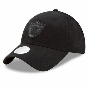 Las Vegas Raiders New Era 9Twenty Team Glisten Adjustable Cap Hat Oakland $28