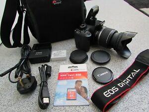 Canon EOS 550D 18.0MP Digital SLR Camera + EF-S 18-55mm IS Lens
