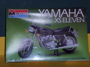 Monogram  1/15  scale  Yamaha  XS  Eleven  model  motorcycle  - -  SEALED  OLDIE